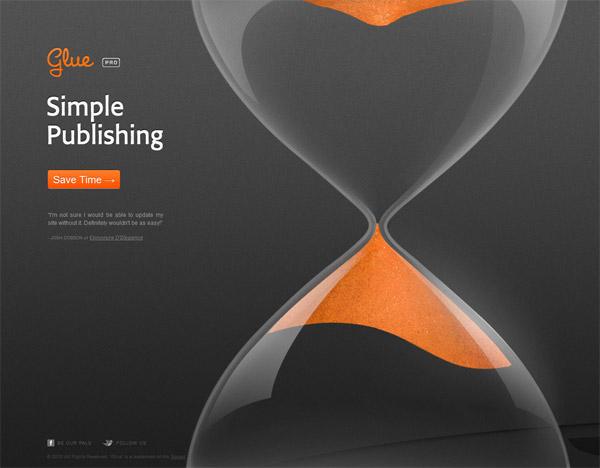 082c45801410 Привлекаем и удерживаем внимание пользователя на важных пунктах. Оранжевый  хорошо подходит для промо-сайтов.